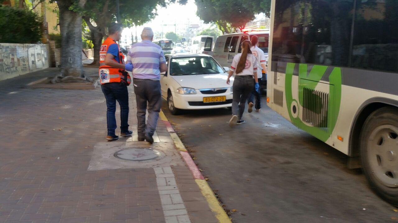 אוטובוס בלם - זבוטינסקי - איחוד הצלה