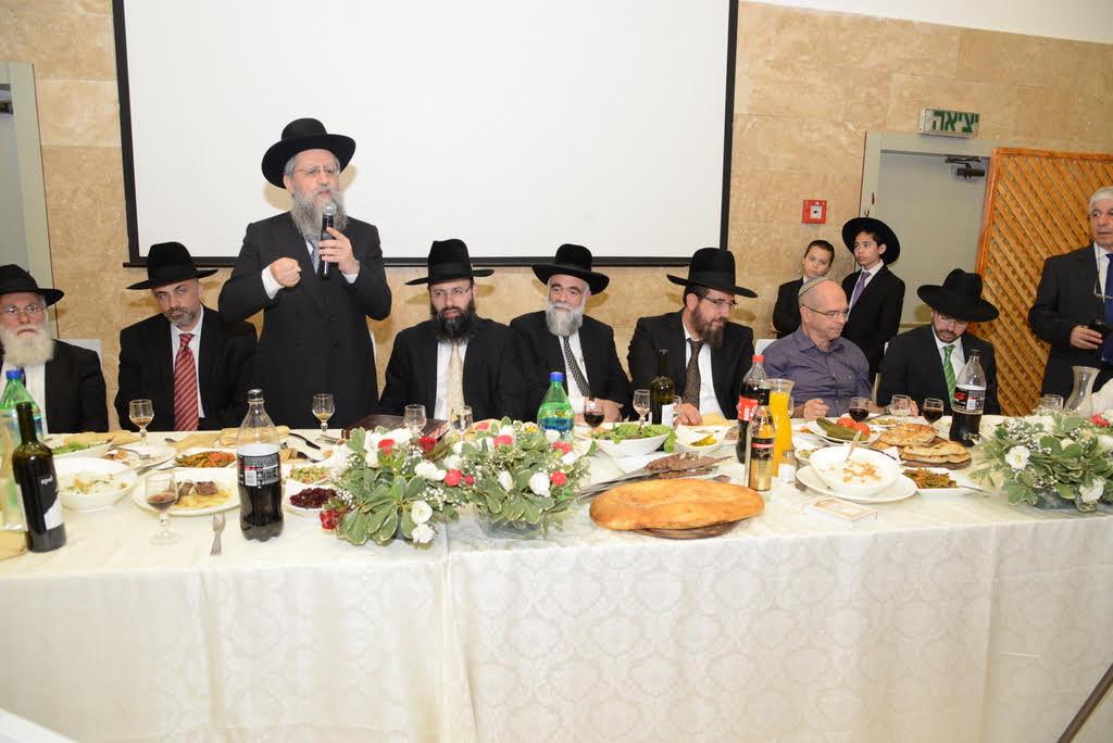 הכתרת רבני הקהילה הבוכרית בפתח תקווה (2)