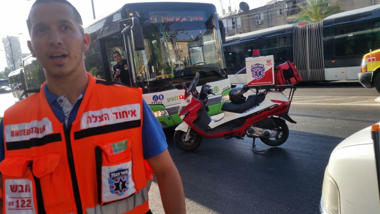 תאונה אוטובוס - איחוד הצלה - פתח תקווה - פתח תקוואי