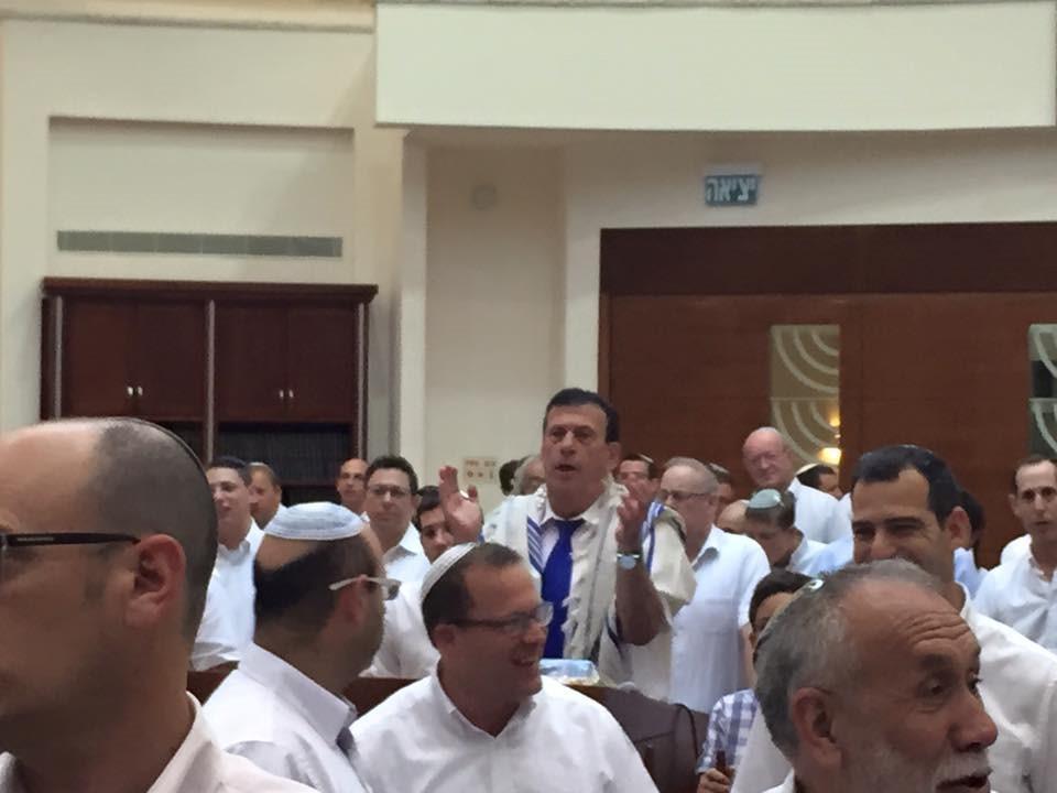 תפילות יום ירושלים בפתח תקווה