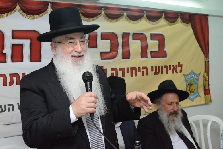 הרב רבינוביץ ראש ישיבת אור ישראל הקטנה - סיום מסכת מתחברים (15)