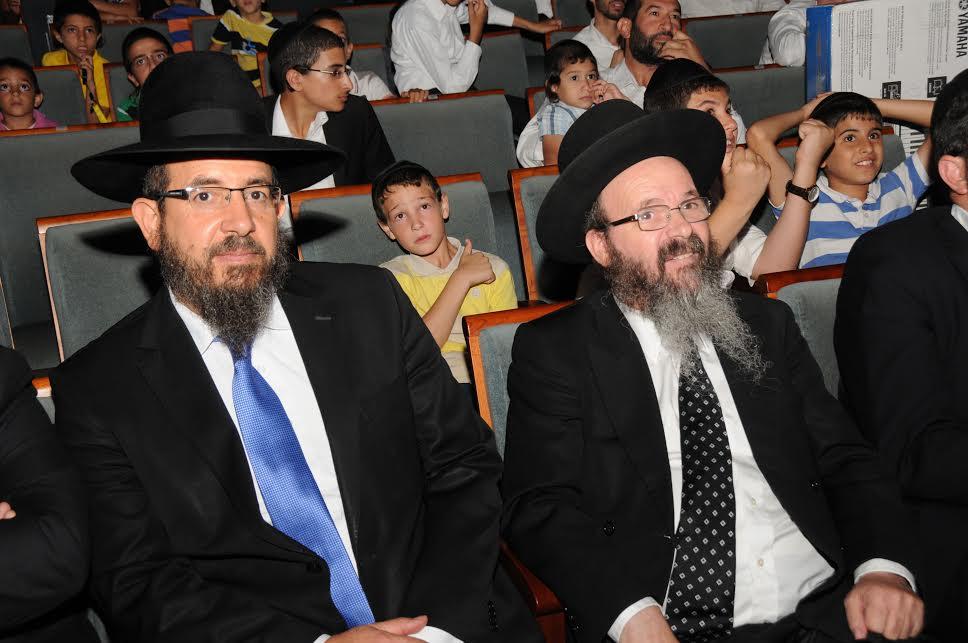 הרב מיכה הלוי ואליהו גינת