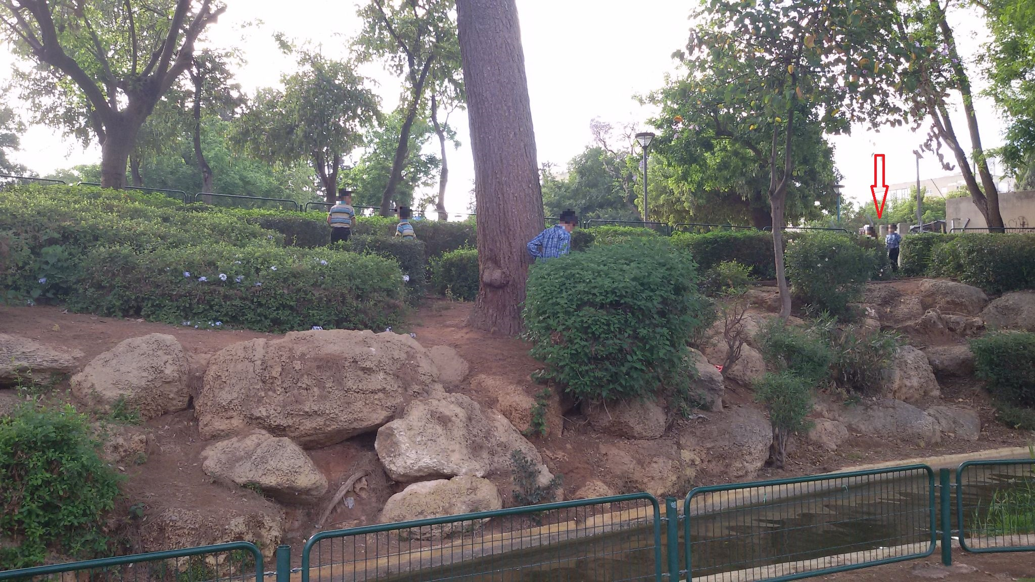 פארק יד לבנים - ילדים