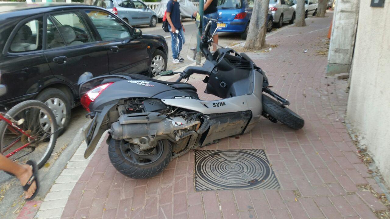 תאונת אופנוע פתח תקווה