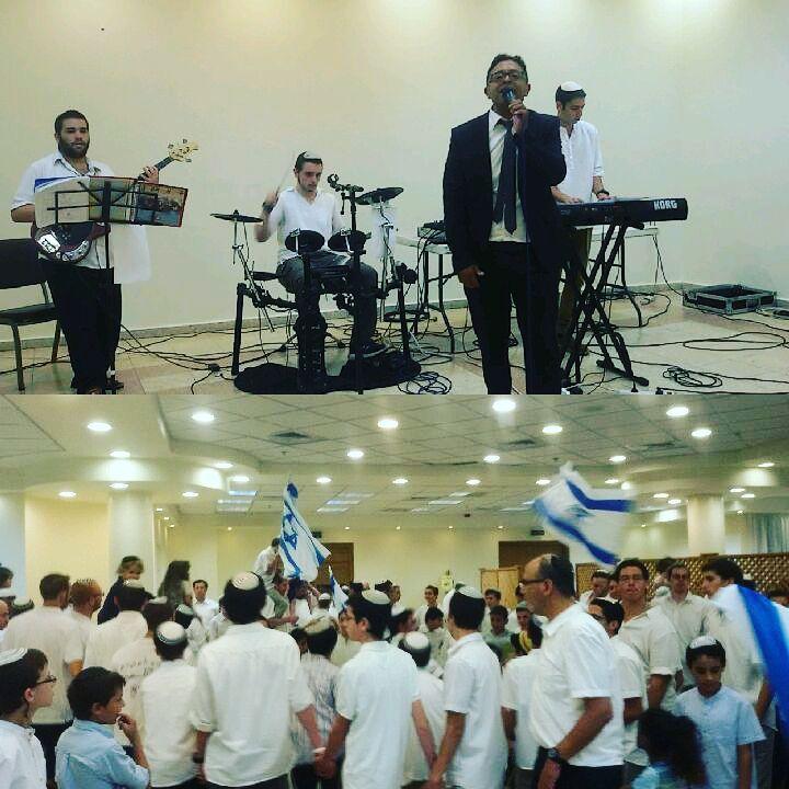 חגיגות יום ירושלים בפתח תקווה - עם הזמר דוד צוברי