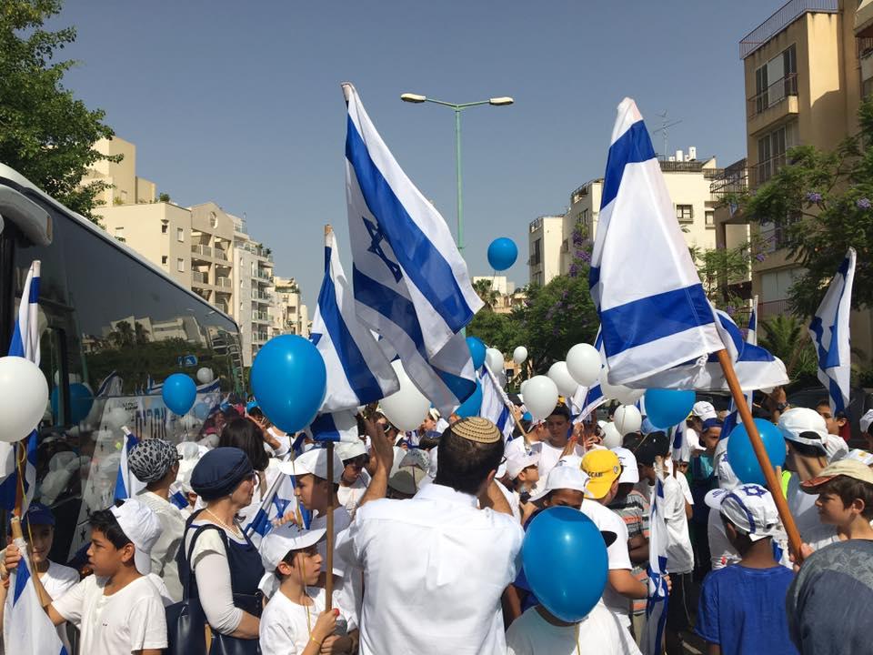 צעדת יום ירושלים - ישורון כפר גנים