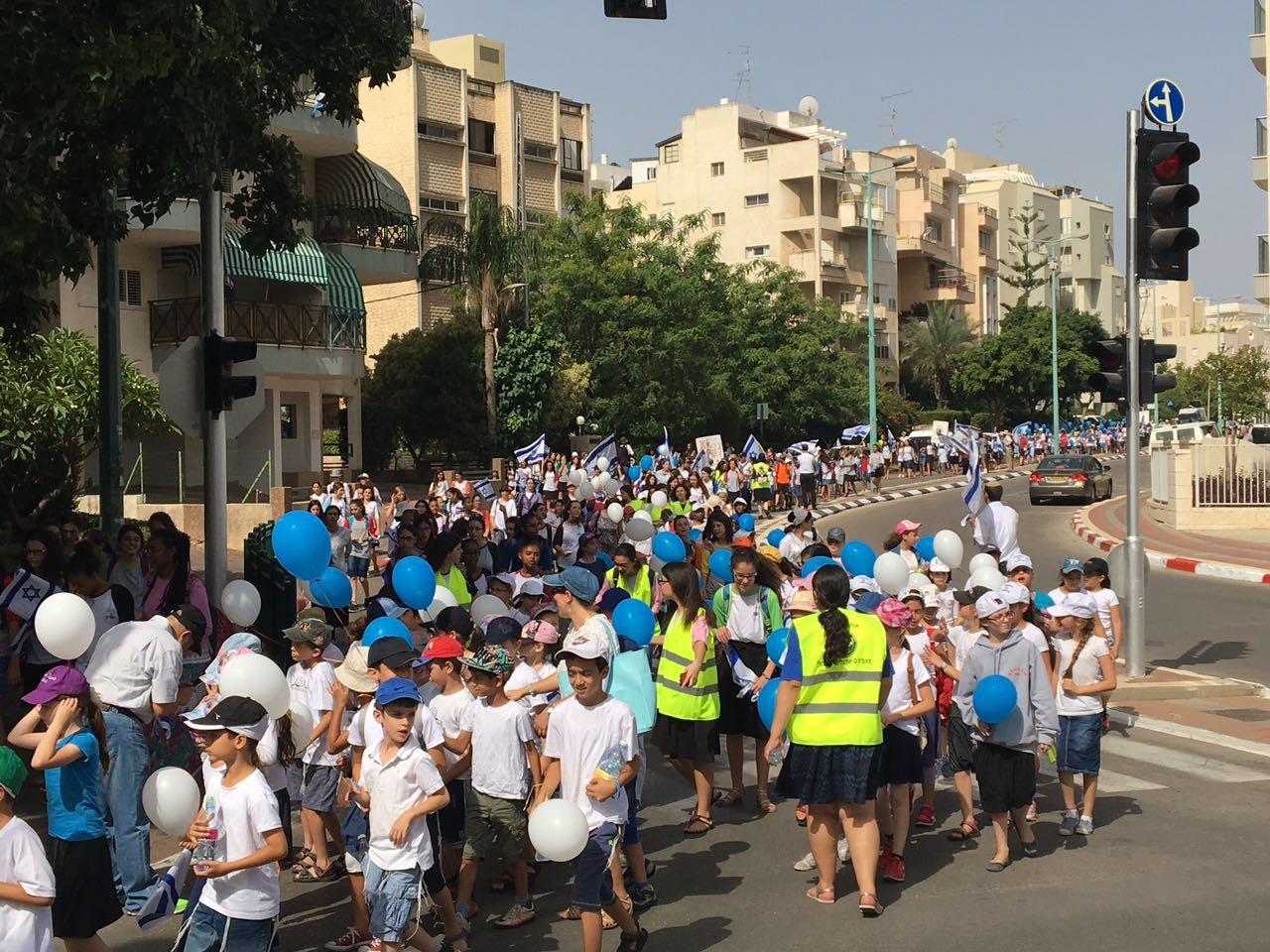 צעדת יום ירושלים פתח תקווה