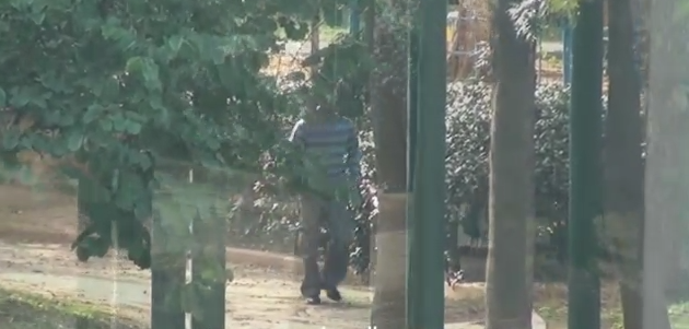 תיעוד: כך תפסה המשטרה פדופיל בפתח תקווה