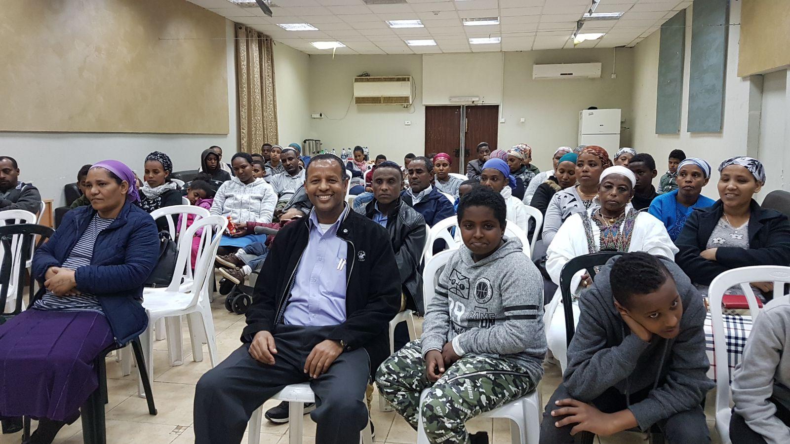 """פתיחת פרויקט בר מצווה עירוני שנתי לנערי יוצאי אתיופיה תשע""""ח"""