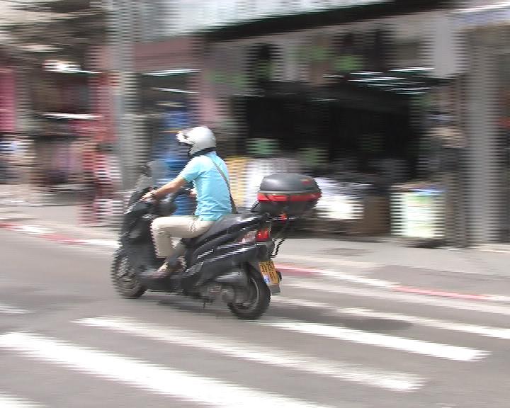 """עליה של 17% ברוכבי אופנועים שנפגעו ב 2017 בפ""""ת בהשוואה ל 2016"""