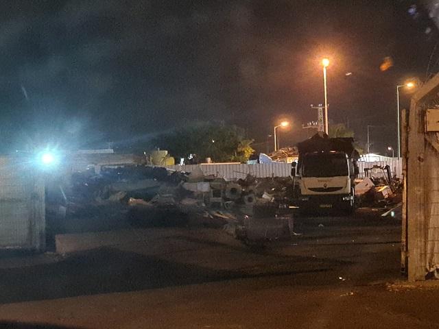 ראש העיר וצוותי השיטור ערכו אמש מבצע אכיפה נרחב