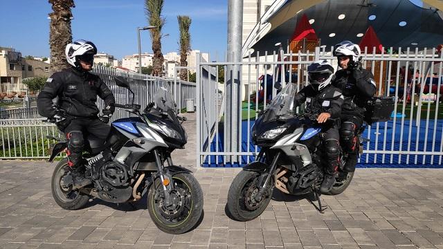 מבצע מוצלח של סיירת האופנועים הביא לתפיסת חשודים שתכננו פריצה