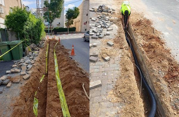 עיריית פתח תקווה מאיצה את עבודות שידרוג תאורת הרחוב