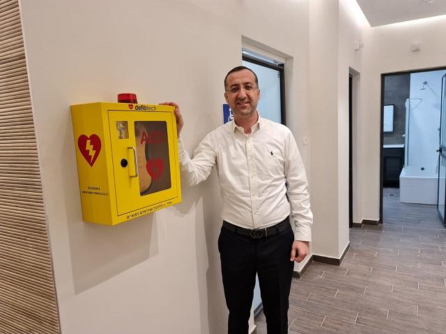 המועצה הדתית דואגת גם לבריאות: מכשירי דפיברילטורים מצילי חיים הותקנו במקוואות בעיר