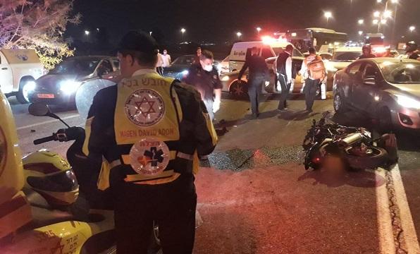 תאונה קטלנית בכביש 471: רוכב אופנוע נהרג
