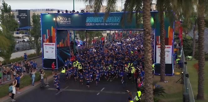 6000 משתתפים, 3 מנצחים ומרוץ לילה אחד של פתח תקווה