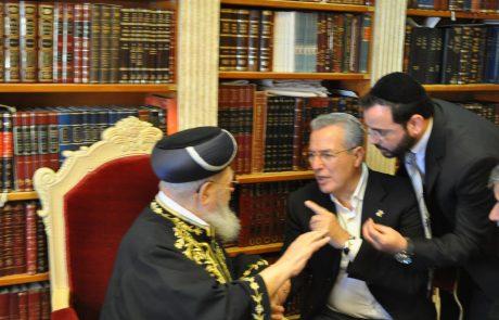 """ב.ד.ה: הלך לעולמו ראש העיר פ""""ת לשעבר איציק אוחיון"""