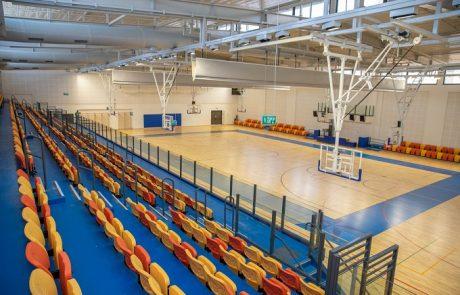 חנוכת אולם ספורט חדש בשכונת כפר גנים