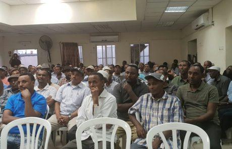 חלק מקהילת יוצאי אתיופיה תתמוך בראש העיר המכהן איציק ברוורמן