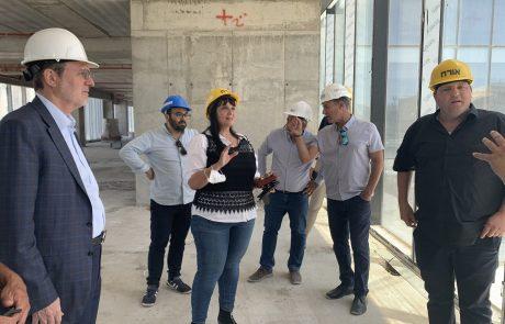 עיריית פתח תקווה מקדמת בית לחדשנות ויזמות במגדל בסר