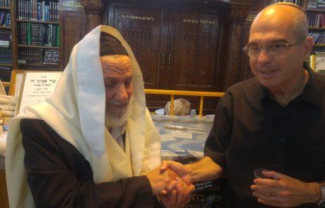 הגאון הרב בוארון לברוורמן: שתזכה לשמור על השבת ולסייע לבתי הכנסת