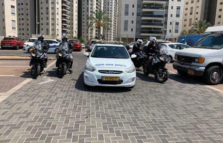 סיירת הביטחון והשיטור העירוני תפסו שני חשודים בפריצה לרכב