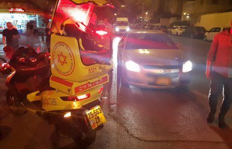 """שוב תאונה עם מעורבות אופניים חשמליים בפ""""ת נער בן 14 נפצע בינוני"""