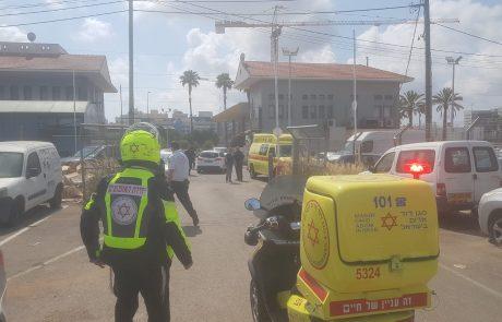 הפשיעה בפתח תקווה: שני אנשים נורו בדרך יצחק רבין בעיר