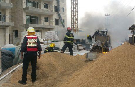תיעוד: הפיצוץ שהרעיד את רחוב גיסין בפתח תקווה