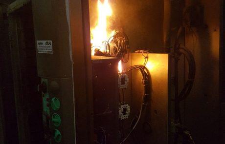 """ארבע שריפות בתוך יממה בפ""""ת: נבדק חשד להצתה"""