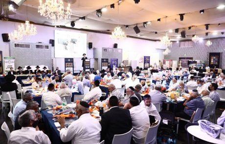 """הגבאי במרכז: מאות רבנים וגבאים השתתפו ביום עיון וכנס רבנים וגבאים של המועצה הדתית פ""""ת"""