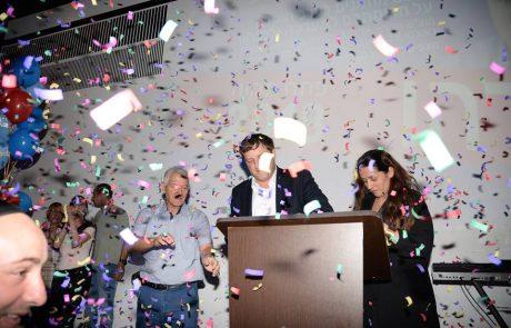 """תיעוד מיוחד: ההבטחות של ראש העיר פ""""ת רמי גרינברג לתושבים בכנס הניצחון"""