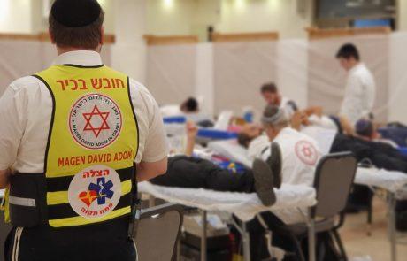 מספר שיא של מנות דם הותרמו במבצע התרמת הדם המסורתית בפתח תקווה