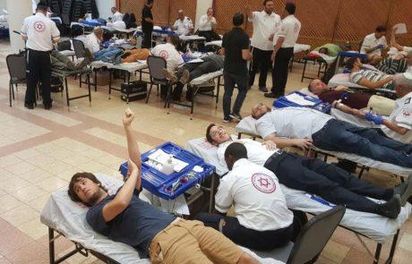 הפנים היפות של הפתח תקוואים: 363 תושבים הגיעו לתרום דם