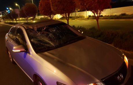 """רוכב אופניים נפגע בינוני מפגיעת מכונית ברחוב יצחק רבין בפ""""ת"""