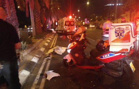 """תאונה קטלנית בצומת שעריה פ""""ת: נער נהרג וחברו נפצע בינוני"""