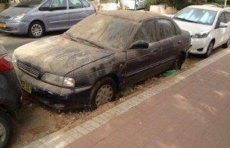 תיקון לחוק העזר יאפשר גרירת רכבים נטושים שרישיונם פג