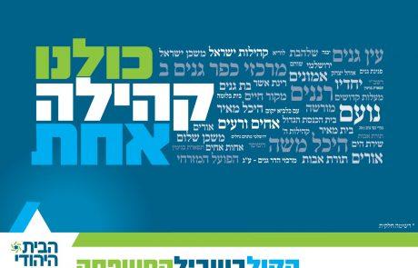 החל קמפיין הבחירות של 'הבית היהודי' בפתח תקווה