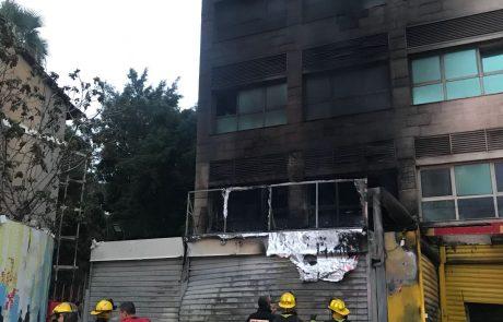 """שריפה פרצה בחובבי ציון: משרדי המועצה הדתית פ""""ת ניזוקו"""