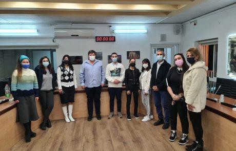 """אופיר לייבוביץ׳ הוא יו""""ר מועצת הנוער העירונית"""