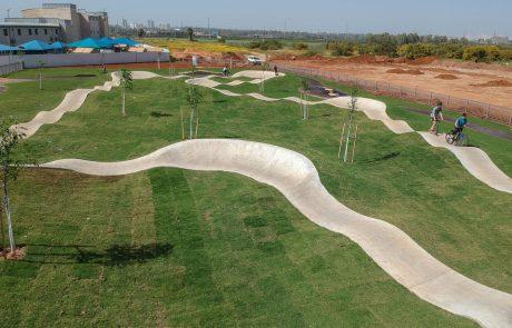 חדש בפתח תקווה: פארק פאמפטרק לרוכבי אופניים