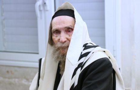 """לקיים בנו חכמי ישראל: תושבי פ""""ת מתפללים לרפואתו מרן הגראי""""ל שטיינמן (מתעדכן)"""