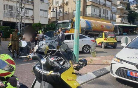 בן 60 נפגע קשה מרכב בעת שחצה את הכביש על כיסא גלגלים