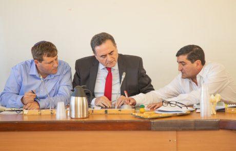 שר התחבורה כץ בפגישה עם גרינברג: פרויקטים בשני מיליארד שקלים לשיפור התחבורה בעיר