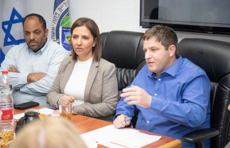 """השרה לשוויון חברתי: """"משרדי תמך רבות בפעולות ובפרויקטים עירוניים"""""""