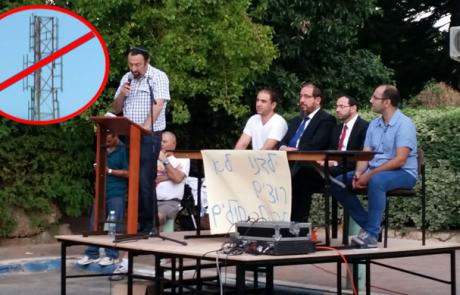 תושבי רמת ורבר נאבקים נגד הגבהת אנטנה של 'בזק' בשכונה