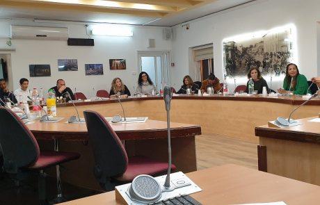 ועדת החינוך העירונית התכנסה לראשונה