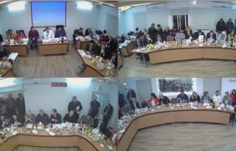 """צפו: ישיבת מועצת העיר פ""""ת בשידור חוזר"""