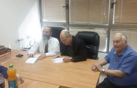 פסח בא: ראש העיר מכר את החמץ של העירייה באמצעות רב העיר הרב מיכה הלוי