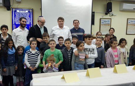 זאת חנוכה וחידון תלמוד ישראל בקהילת חצרות גנים